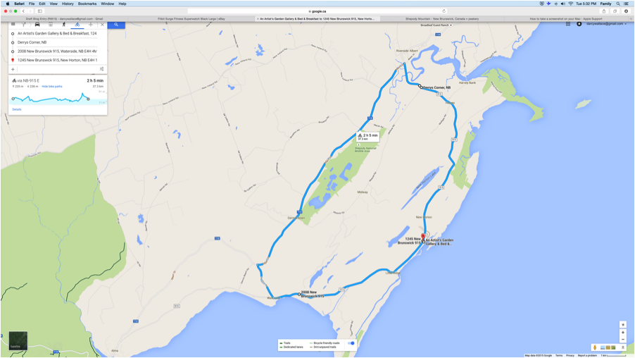 Cape Enrage Map for blog